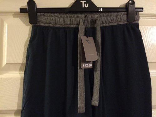 TU men's full length lounge pants in navy, scans for £3.70 @ Sainsburys