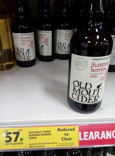 Old Mout Cider 57p @ Tesco