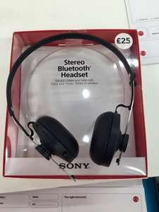 Sony SBH60 Stereo Bluetooth Headphones £25 instore & Online @ Vodafone