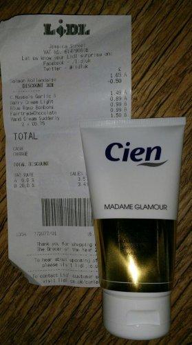 Suddenly Madame Glamour Hand Cream, 75ml, 75p @ Lidl