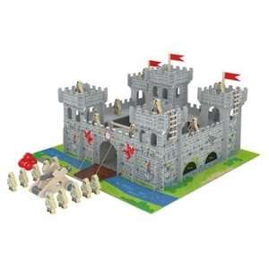 Chad Valley Wooden Castle with Accessories. £24.99 was £49.99 Argos free c+c