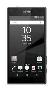 Sony Xperia Z5 Compact (Black) at Amazon UK £413.49 sold by Prime Shopping Fulfilled by Amazon