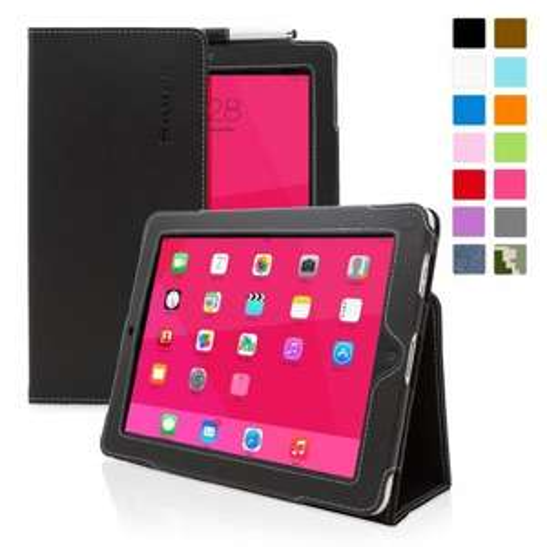Snugg iPad 2 Case (black) - Smart Cover with Flip Stand & Lifetime Guarantee (Black Leather) for Apple iPad 2 £9.98  (Prime) / £13.97 (non Prime) @ Amazon