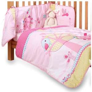 Clair de Lune Lottie & Squeek Cot/ Cot Bed Quilt and Bumper Set (2 Pieces) £9.25 @ Tesco instore