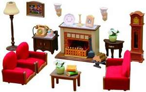 Sylvanian Families Luxury Living Room Set £11.95 (prime) £15.90 (non prime) @ Amazon lightning deal
