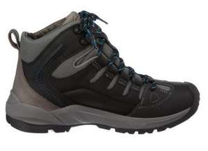 50% off Outvent Mid Black & Brown Outdoor Shoes - reduced to £65 - Clarks & Amazon