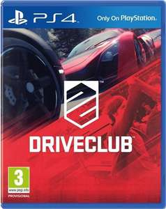 Driveclub (PS4) - £8.00 at CEX in-store (pre-owned)