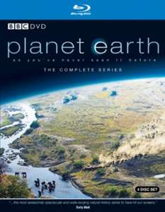 [Blu Ray] David Attenborough: Planet Earth - The Complete Series - £9.59 (DVD - £6.48) - Zoom (5 Disc - £10.90 Amazon Prime)