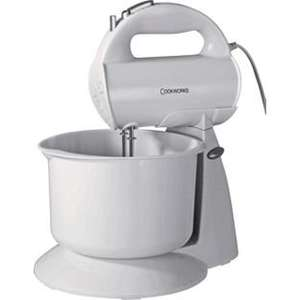 Cookworks HM729WB Hand Mixer with Bowl - White. £13.99 @ Argos