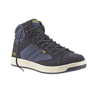 Site Sapphire Hi-Top Safety Trainers Various Sizes £19.99 (Half price) @ Screwfix - See post for details