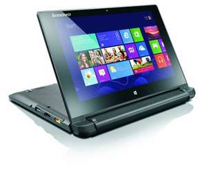 Lenovo FLEX 10 10.1-Inch Touchscreen Laptop Notebook (Intel Celeron N2840 2.16 GHz, 2 GB RAM, 500 GB HDD, Integrated Graphics, Windows 8.1) with Free Windows 10 Upgrade £129.99 Delivered @ Amazon