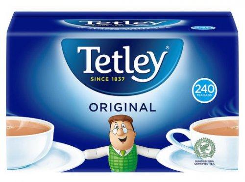 ** Tetley Teabags 750g - 240 for £2.49 @ Tesco **