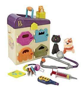 B. pet vet clinic £24.26 @ Amazon delivered (+ £5 voucher back with Pass My Parcel)  Great toy for little people /  kids
