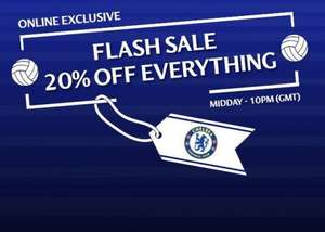 20% off everything at Chelsea online store