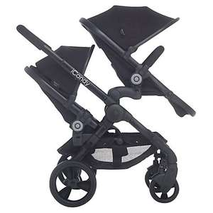 iCandy Peach 3 Jet Black Blossom Pushchair package - Just Kidding Online £749