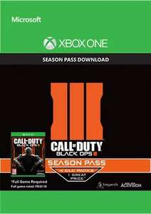 Call of Duty Black Ops 3 Season Pass Xbox One £31.34 @ CDKeys