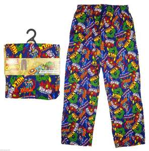 Marvel Pyjama Bottoms only £6.99 @ Home Bargains