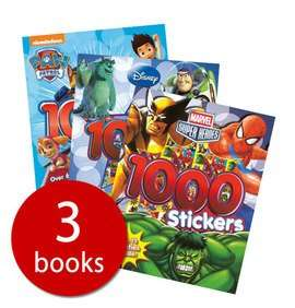 the book people - 3 sticker books £4.00