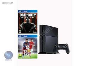 PS4 500GB Console Black Ops 3 Bundle + FIFA 16 FREE £269 @ Tesco