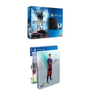 PS4 500gb plus Battlefront plus Fifa 16 Steelbook - £289.99 @ Amazon