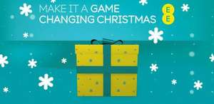 Unwrap a present every week until Christmas with EE