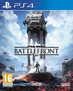 Star Wars Battlefront PS4 / XB1 £41.99 or £1.99 with £20 Nectar Double Up @ Sainsbury's