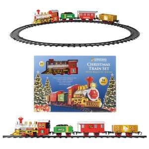 Santa Express Train Set £12.48 delivered @ TJ Hughes