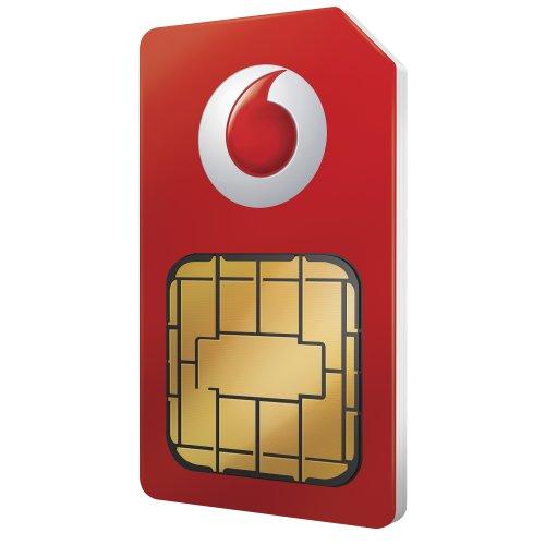 PAYG SIM with 50GB 4G Data, 150 Mins & Unlim Text £10 @ Vodafone