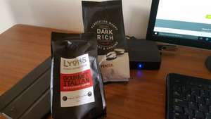 150G bags of ground Coffee 79p each @ Home Bargains. Percol plantation wharf and Lyons.