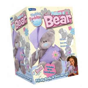 Tatty Teddy Make a Bear £3.99 @ Home Bargains