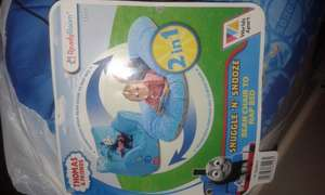 Thomas and Friends snuggle and snooze 2 in 1 beanbag chair and nap bed £11.99 at home bargains instore