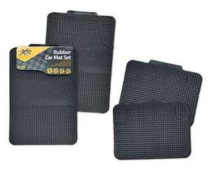Universal Rubber Car Mats 4PK £6.99 at Aldi