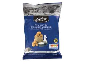 LIDL DELUXE Hand Cooked Crisps 150gm 39p
