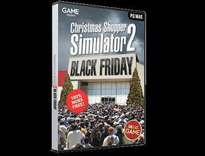 FREE NOVELTY GAME! Christmas Shopper Simulator !! PC/MAC at GAME! Not only that but you can pre order Christmas simulator 2 BLACK FRIDAY EDITION! released 20/11/15