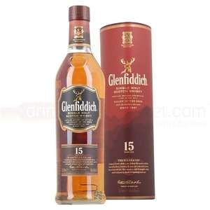 Glenfiddich 15 Year Old Malt Whisky £30 @ Asda