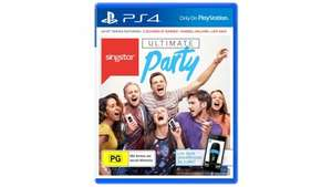 PS4 Singstar Ultimate Party. £10 delivered at Tesco.