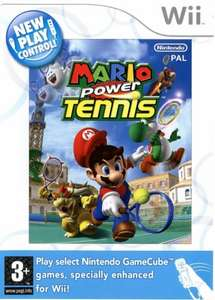 Mario Power Tennis (Wii / Wii U) - £2.59 @ That's Entertainment [Used - Very Good]