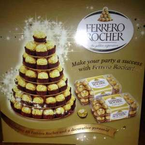 Tesco £20 Ferrero Rocher decorative pyramid and 60 chocolates