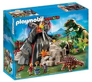 Playmobil Dinosaur Volcano and T Rex £24.99 delivered at Amazon
