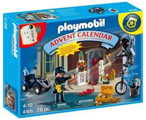 Playmobil 4168 Christmas Advent Calendar Police £9.96 prime or £14.71 non prime @ Amazon