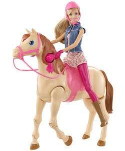 barbie saddle 'n' ride horse playset £29.99 @ Argos