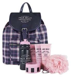 Boots - Jack Wills Weekend Essentials Backpack - Half Price - Was £50 Now £25