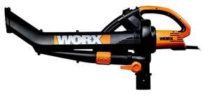 Worx WG501E 3000W Blower/ Mulcher and Vacuum with 7 Speed Settings £47.99 on Amazon Lightning Deal