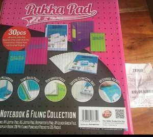 pukka pad brights 30 piece set £20 reduced to £5! @ Tesco Greenock