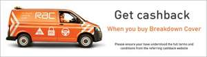 RAC Roadside & Recovery  £76.99 with £45 TopCashback = £31.99 for the year ( new customers only) 24 Hrs Only