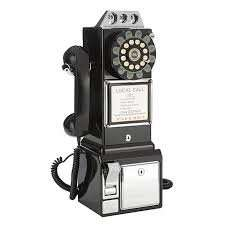 Wild & Wolf 1950s American Diner Phone £49.99 free delivery @ liGo add liGo10black for extra10%