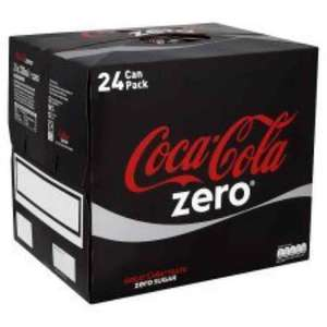 Coke Zero 24 pack 44p in Tesco (Brand Match rules to buy 10 different items)