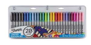 Sharpie permanent markers pack of 28 £3.50 instore at Tesco