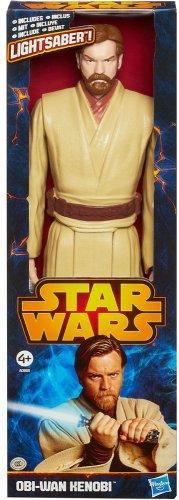 Star Wars Obi Wan Kenobi Hasbro Action Figure just £7.49 (prime) £11.48 (non prime) RRP £14.99! @ Amazon.co.uk (backorder stock due 29th November)