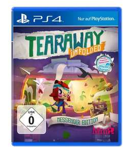 Tearaway: Unfolded - Messenger Edition PS4 £10.14 @ Amazon.de